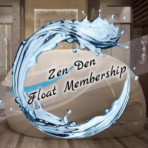 Zen Den Float Membership - Ongoing